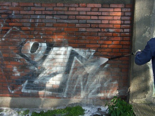Čištění stavebních povrchů odstraňování starých nátěrů fasád Zlín