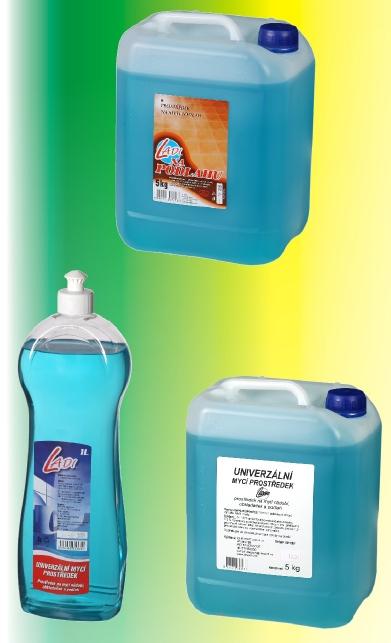 Čistící a dezinfekční prostředky, čistící přípravky od výrobce