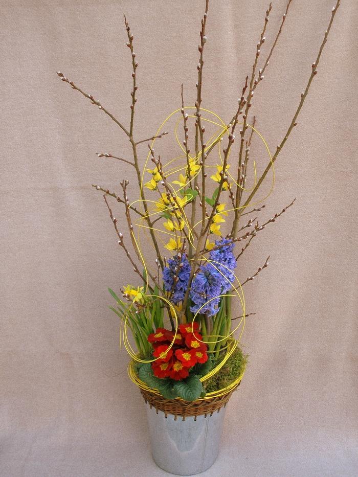 Velikonoční dekorace, dárkové aranžmá a kytice k MDŽ Holešov