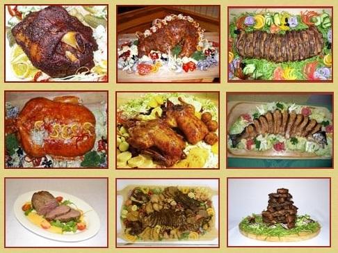 Grilovaná kolena, žebra, krkovice a další speciality z grilu