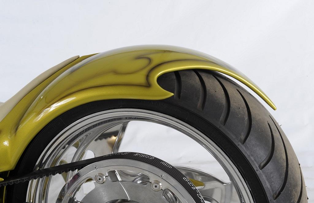 ozdobné blatníky motocyklů
