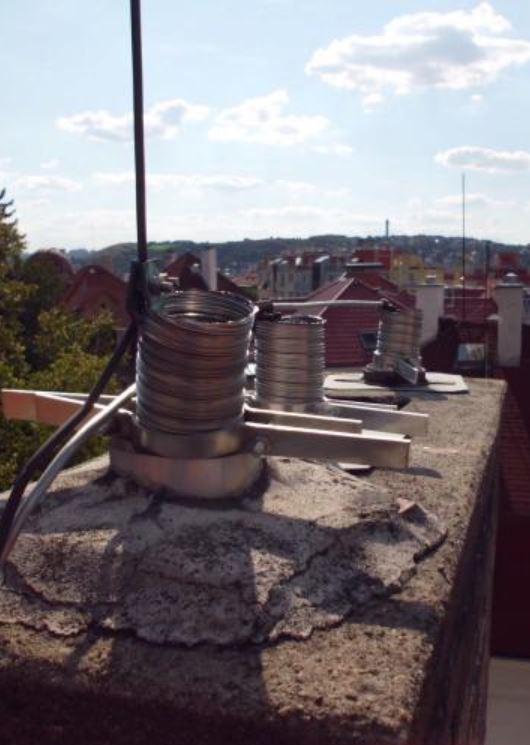 Samostatné vložkování komínů a rekonstrukce spalinových cest