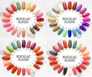 Rocklac trvanlivý lak na nehty do lampy UV i LED - prodej, eshop