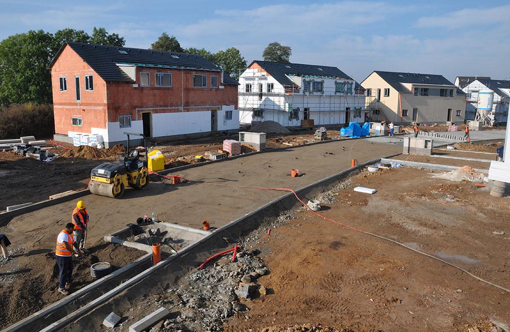 Výstavba dopravních staveb moderními technologiemi