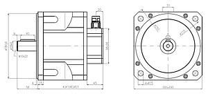 Servomotory řady TGN s různými snímači polohy dle přání zákazníka