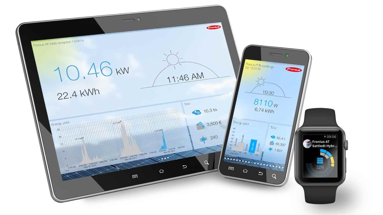 Softwarová řešení Fronius – efektivní využití fotovoltaického systému