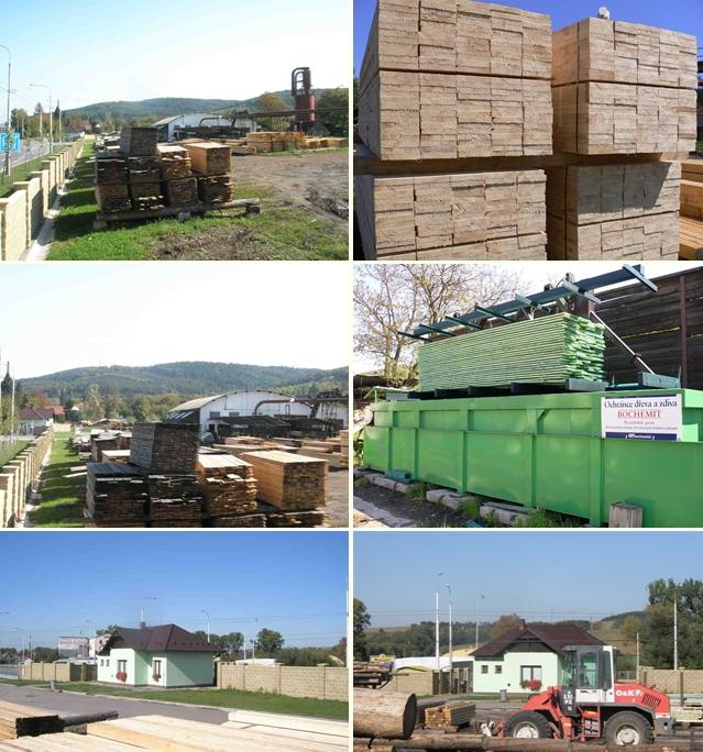 široký sortiment stavebního řeziva - Pila Zlín-Malenovice
