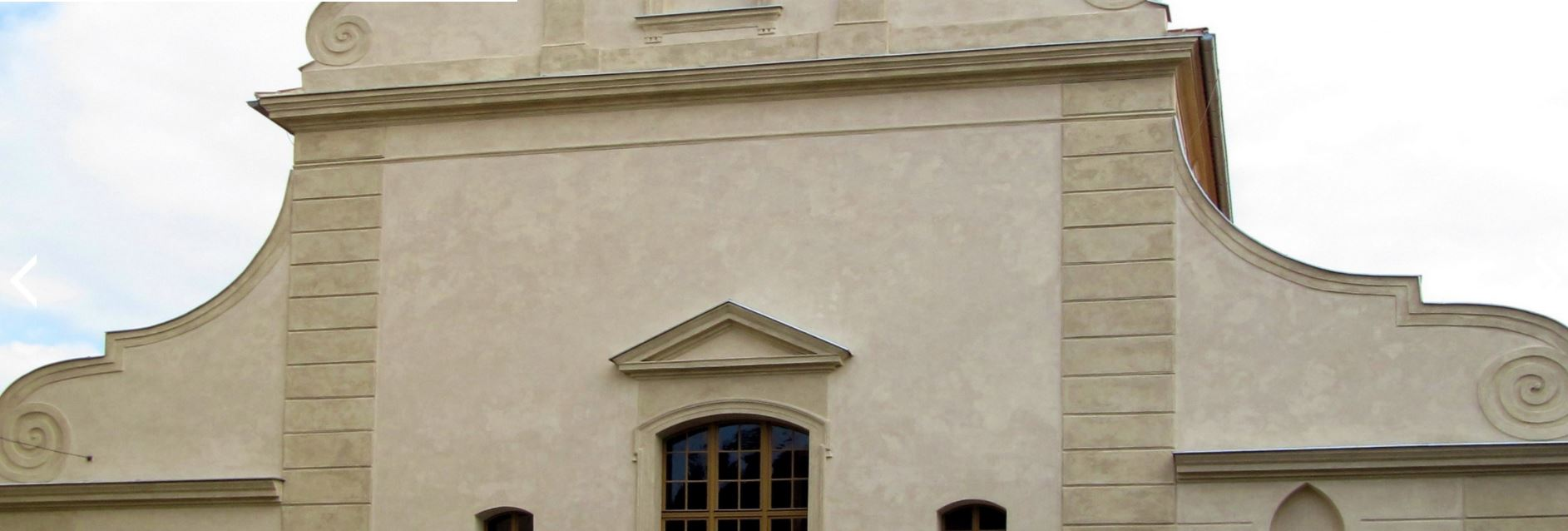 Zakázkové fasády - možnost napodobení jakékoliv omítky při lokální i celoplošné rekonstrukci