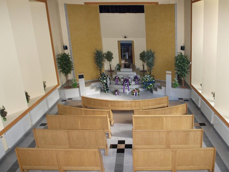Pohřeb v obřadní síni Příbram