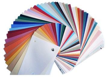 Vertikální žaluzie - barevné varianty