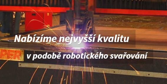 Moderní robotické svařování