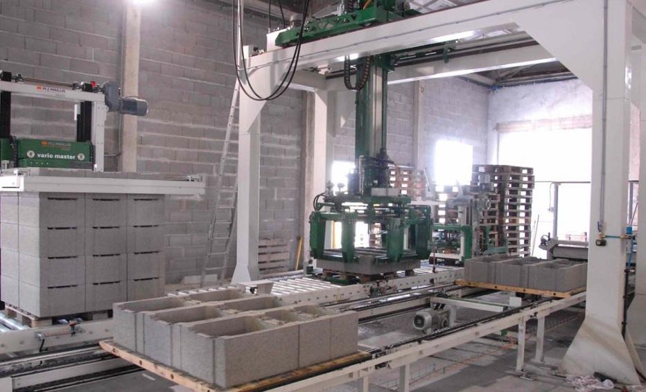 Manipulační linky a technologie pro betonářský a potravinářský průmysl - dodávka