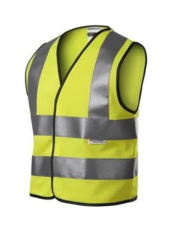 Žlutá reflexní vesta