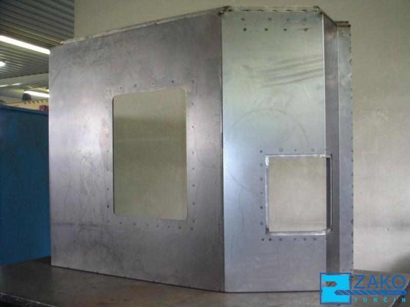 kryty z plechu - zámečnická výroba Zlín