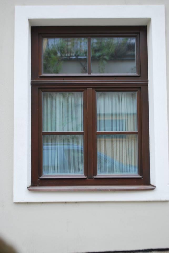 Špaletová okna z kvalitního dřeva