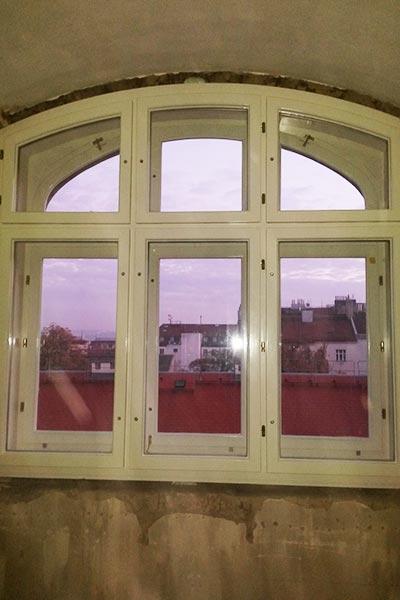 Špaletová okna na zakázku