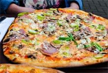 Pizzérie, rozvoz v Plzni zdarma, pizza, gyros, těstoviny, saláty, bezmasá jídla