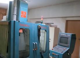 CNC obrábění, frézování  na stroji 3 osé obráběcí centrum Tekwell