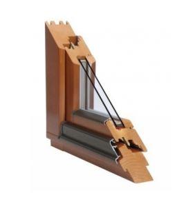 Dřevěná EURO okna - přírodní dřevěný materiál, moderní design a tepelná izolace
