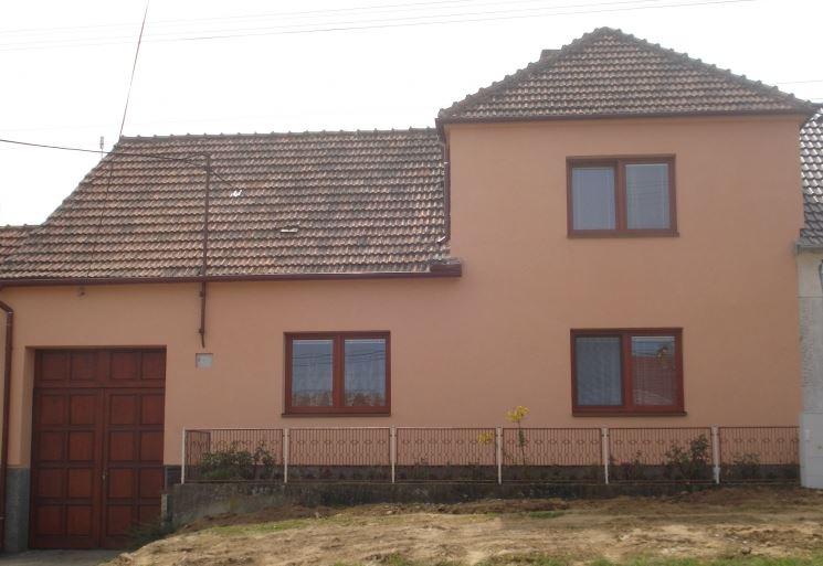 EURO okna dřevěná - rodinný dům