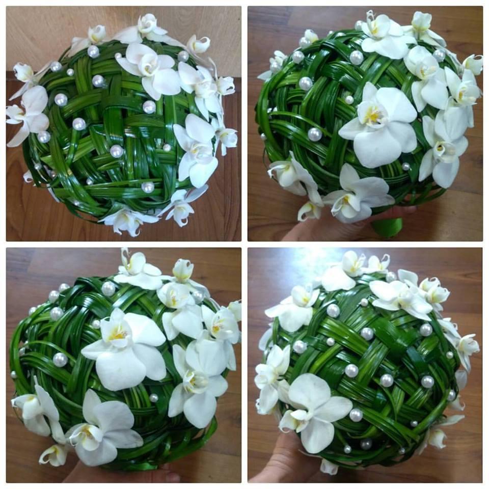 Svatební květinové dekorace - Zlín