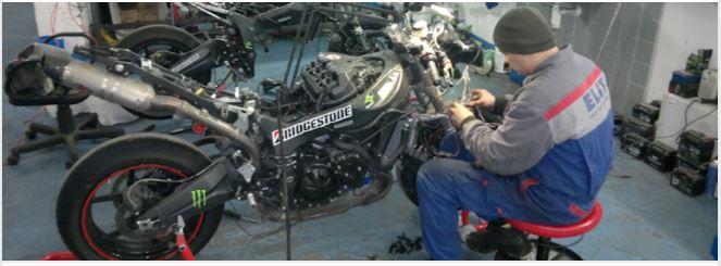 Servis motocyklů Praha