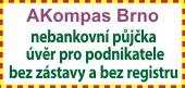 Rychlá nebankovní půjčka bez ručitele a bez zástavy Brno