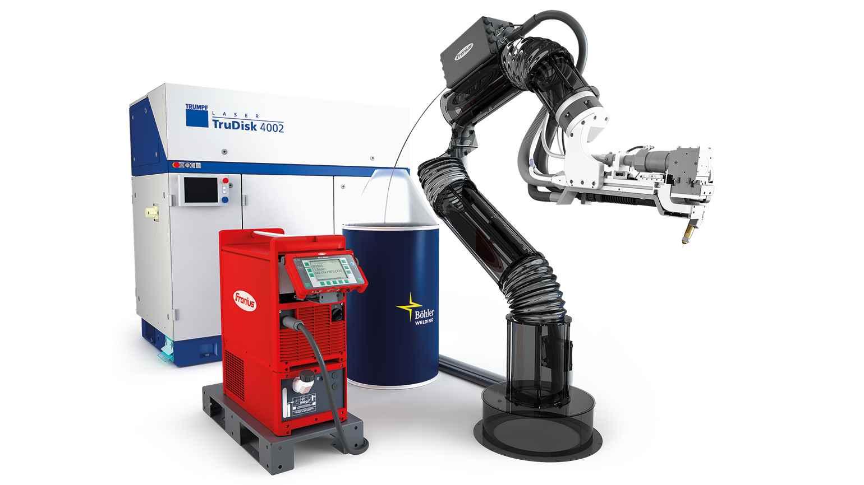 Robotizované svařování pro všechny oblasti výroby