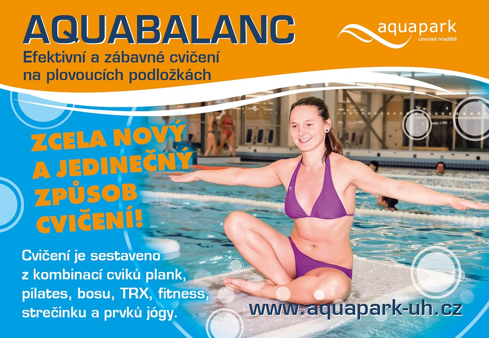 Aquabalanc efektivní trénink, zábavné cvičení na plovoucích podložkách