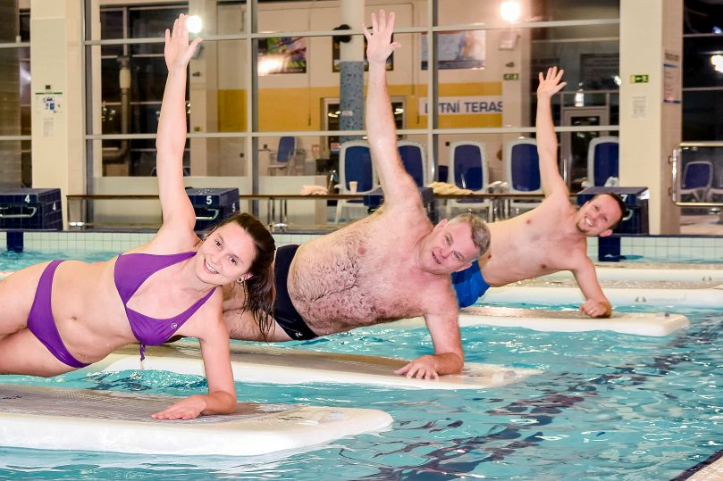 efektivní trénink na plovoucích podložkách