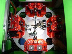 Průmyslová automatizace, kamerové systémy, průmyslové roboty.