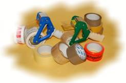 Vázací pásky, oboustranné lepící pásky Olomouc