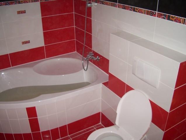 Přestavba bytového jádra nebo rekonstrukce koupelny vám z bytu vykouzlí útulný domov