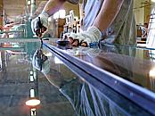 Sklenářské práce Praha, zasklívání oken, dveří, výroba akvárií