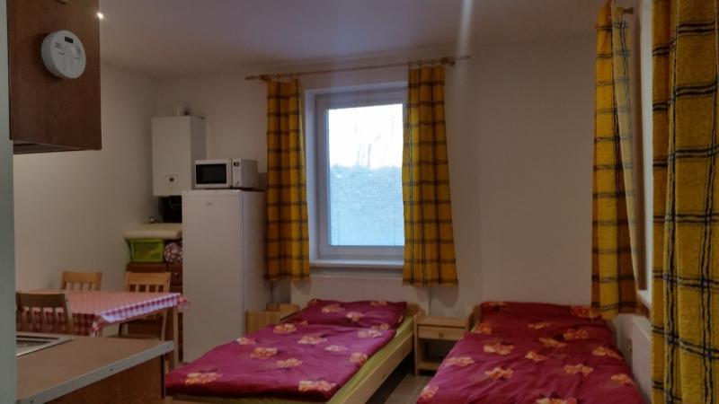 Ubytování pokoje a apartmán