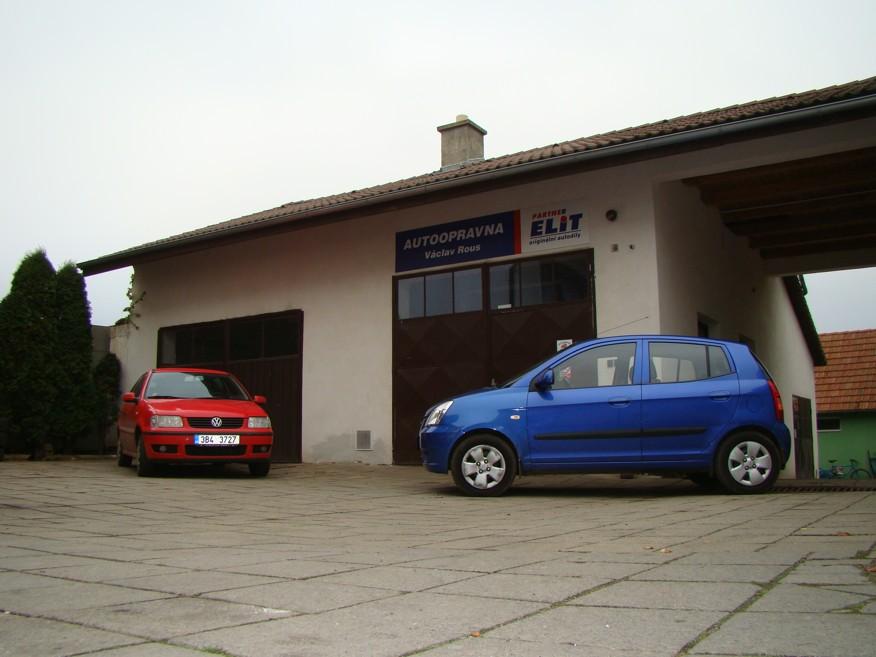 Opravy vozů všech značek