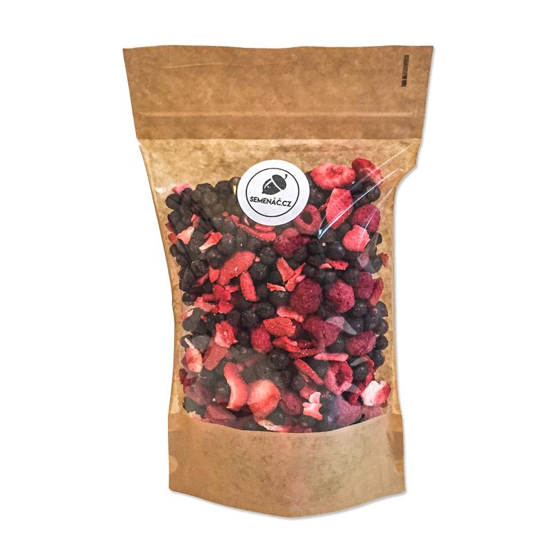 lyofilizované lesní plody - mrazem sušené