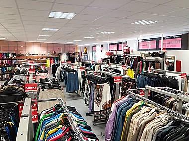 Second-hand, použitý textil, oděvy a obuv, síť prodejen v celé ČR