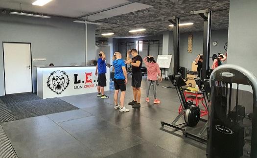 Kruhový trénink - ukázka cviků