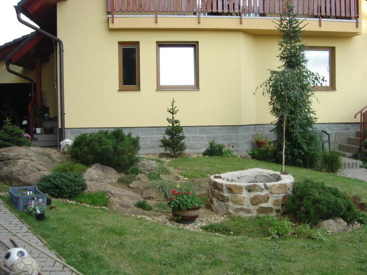 Návrhy zahrad, zahradní architektura, tvorba zahradních jezírek