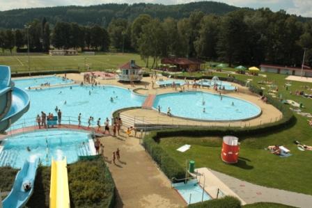 Venkovní Aquapark Ústí nad Orlicí - atrakce nejen pro děti ale i dospělé