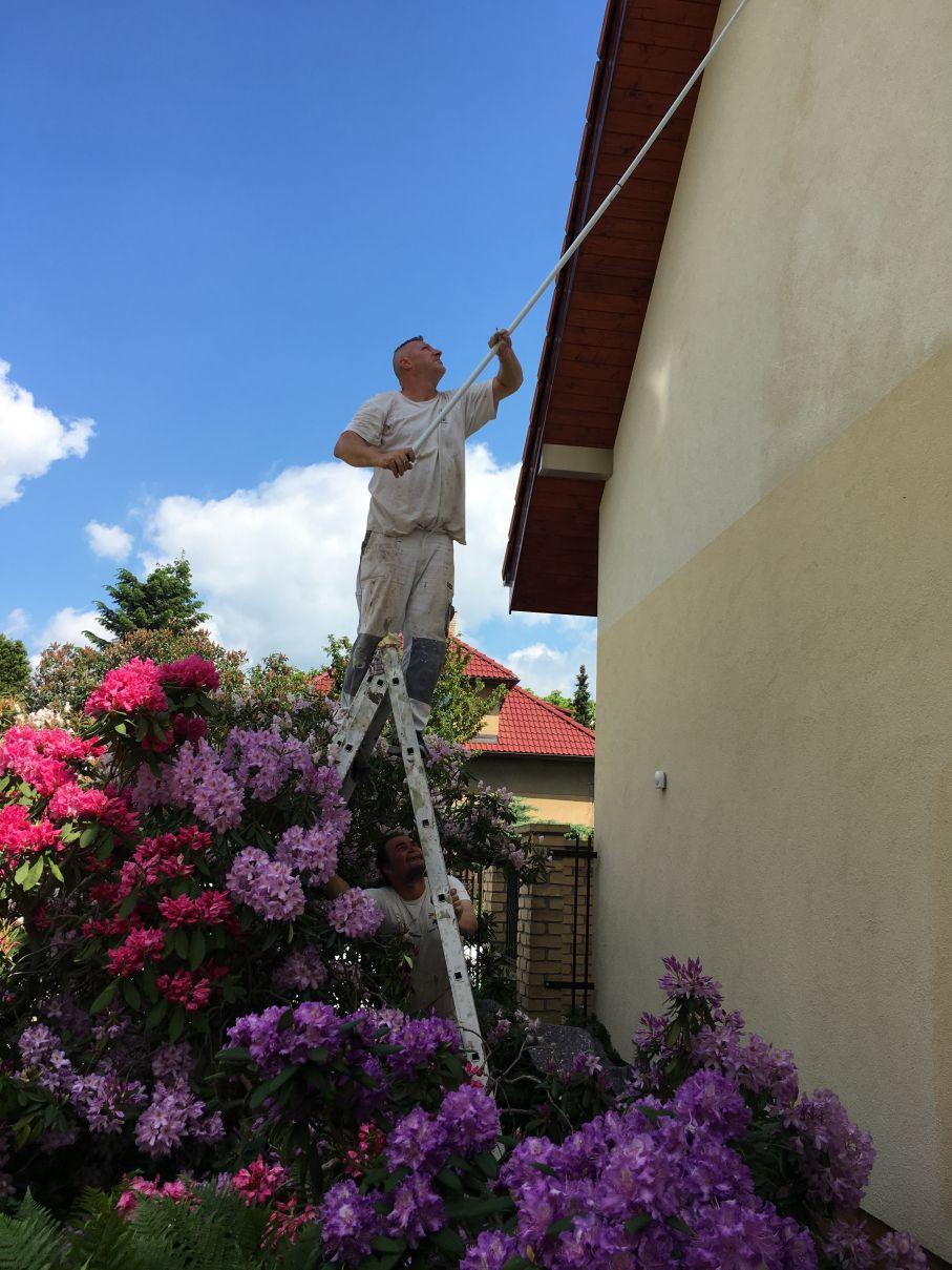 Opravy a nátěry venkovních fasád s použitím barev od renomovaných výrobců