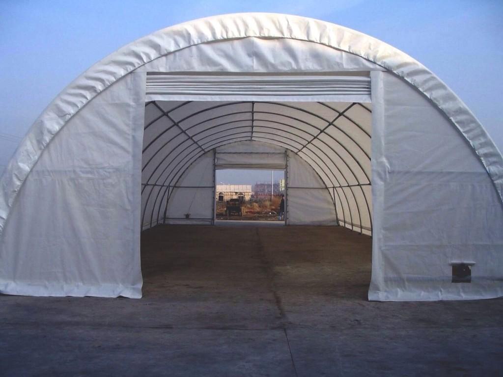 Prodej zemědělské montované plachtové přístřešky pro uskladnění sena a plodin