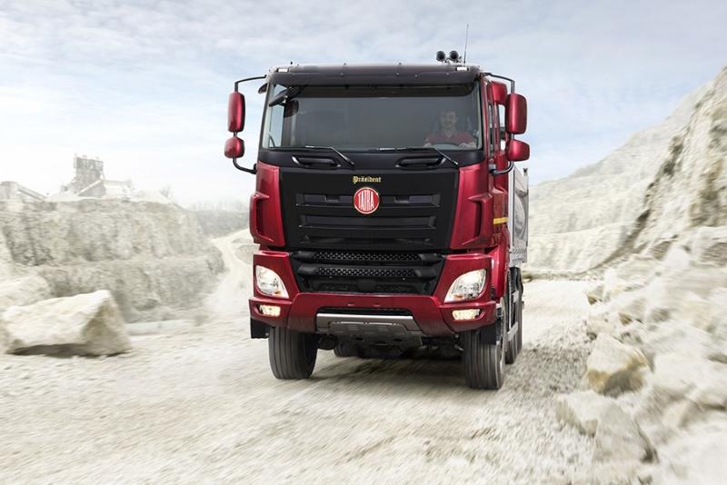 Novinka nákladní vozidlo Tatra PRÄSIDENT Pardubice - Limitovaná edice 120 kusů