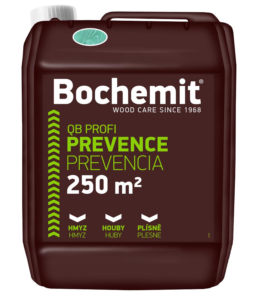 Ochranné prostředky proti dřevokaznému hmyzu, houbám i plísním od společnosti Bochemie