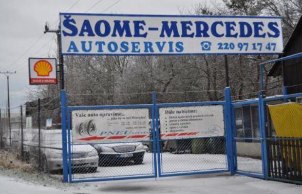 Specializovaný autoservis vozů zn. Mercedes-Benz - Praha 6