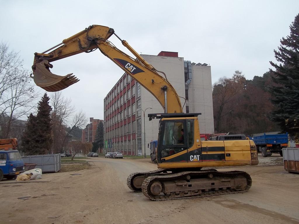Zemní a výkopové práce, terénní úpravy - Třebíč, Vysočina
