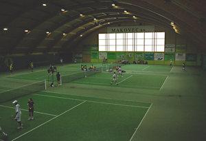Pronájem tenisových dvorců, tenisová škola, badbinton Prostějov