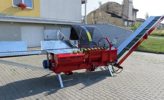 Automatické štípačky dřeva s pohonem elektromotor 11kW