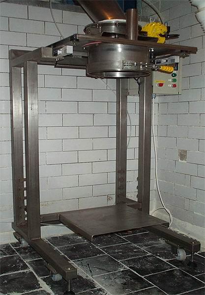 Mobilní pytlovací váhy Pardubice – váhy pro plnění pytlů